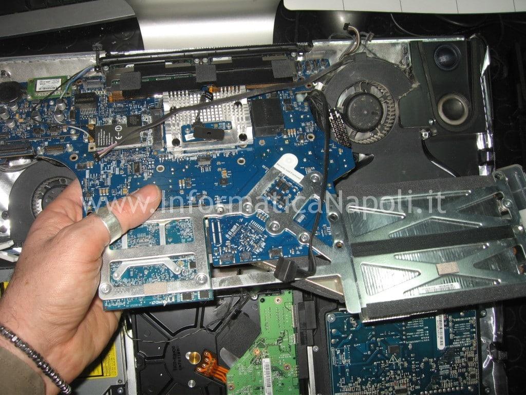 "apple a1224 display 20"" scheda logica rimossa"