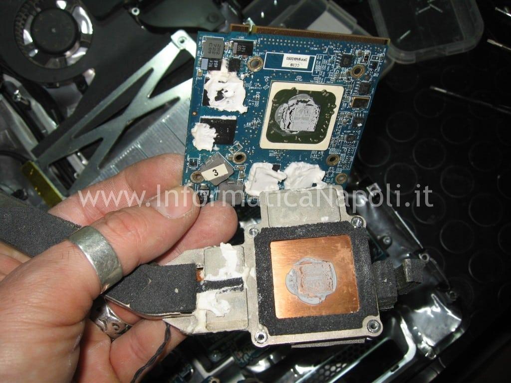 """problemi scheda video nVidia ATI mxm iMac A1224 20"""""""