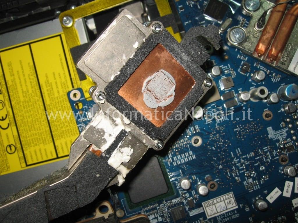 """pulizia dissipatore iMac a1225 24"""""""