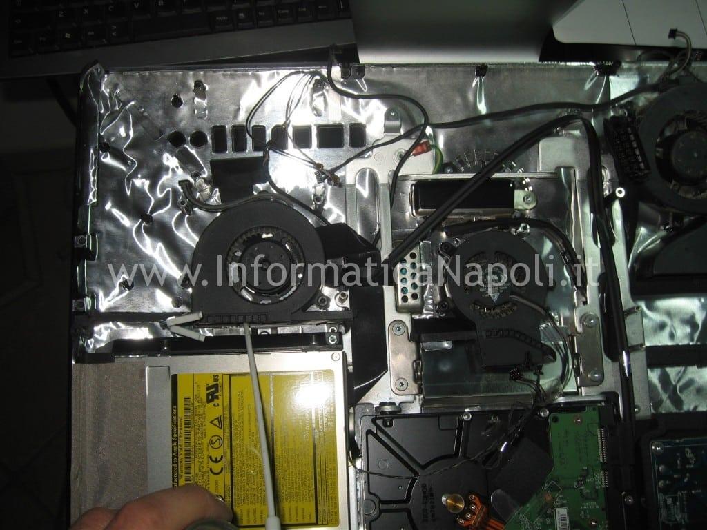 "pulire ventole iMac a1225 24"""