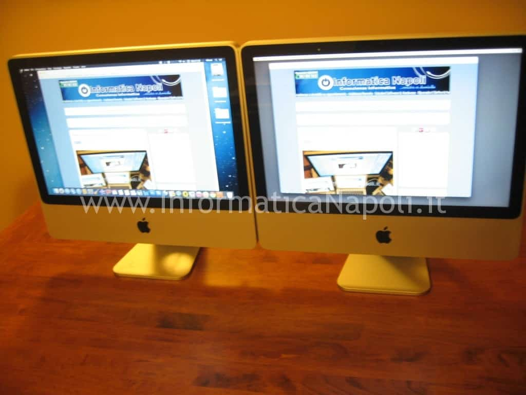 Assistenza Apple iMac a1225 napoli