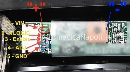 Piedinatura INVERTER LCD