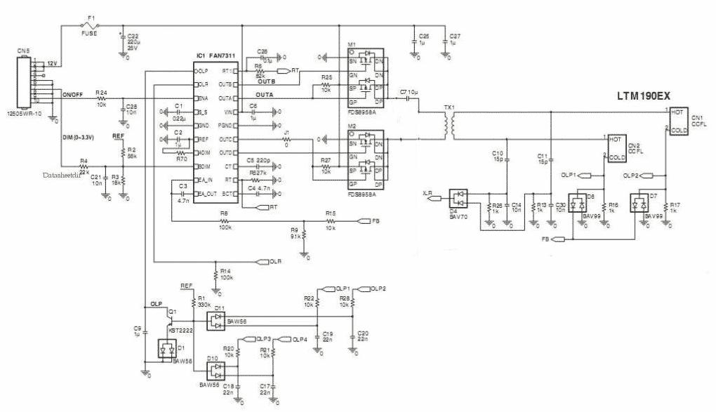 Desktop Wiring Schematic