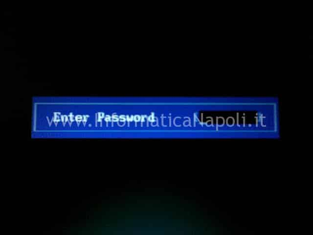 Enter password all'avvio Toshiba A210
