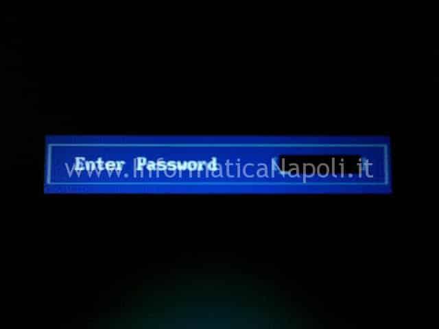 Enter password all'avvio Toshiba A210