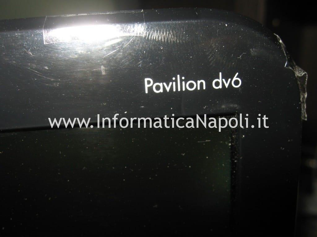 problema schermo hp pavilion DV6-6169sl