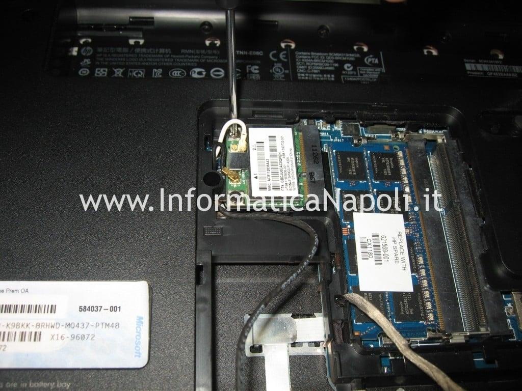 scheda rete wifi HP pavilion DV6-6169sl