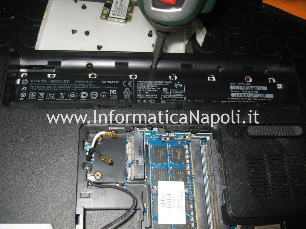 problema accensione HP pavilion DV6-6169sl