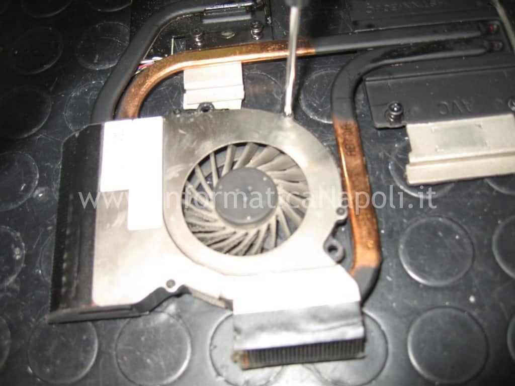 come pulire ventola e dissipatore HP Pavilion DV6-6169sl