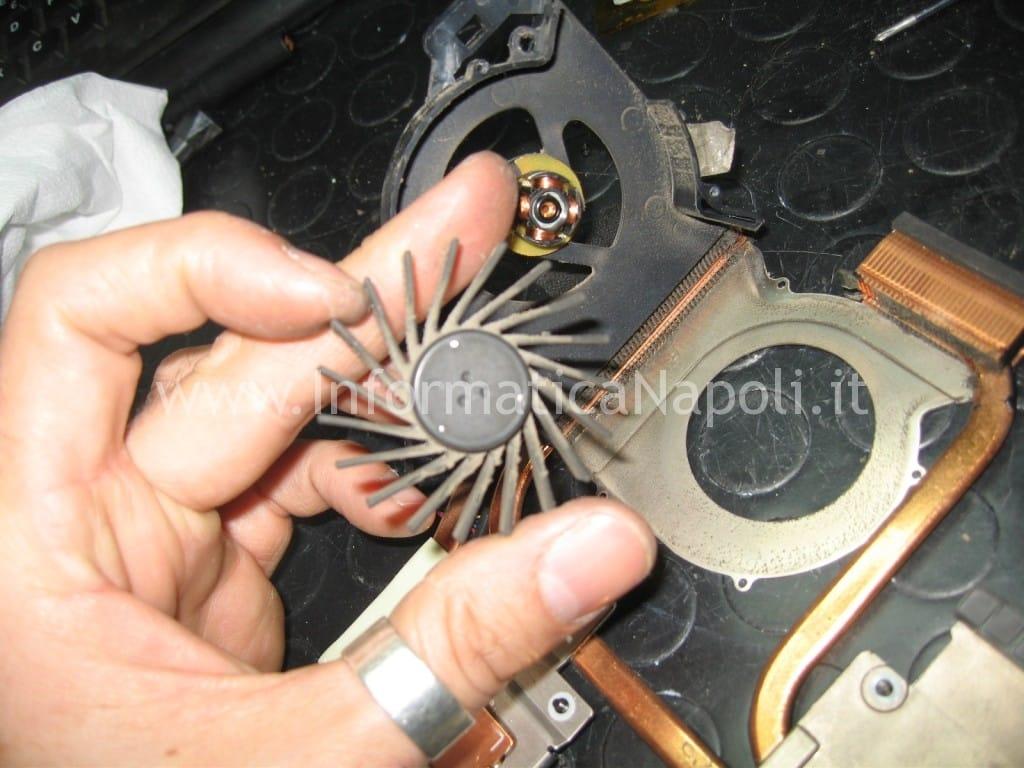 ripristino ventolina fan e dissipatore HP Pavilion DV6-6169sl