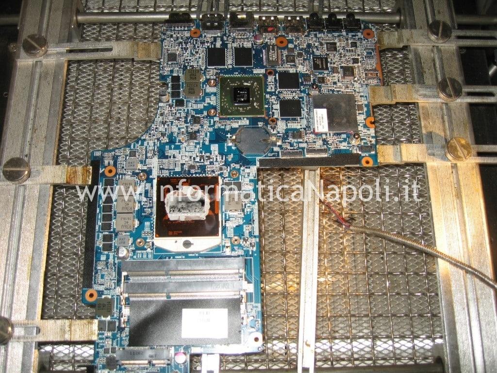 reballing BGA gpu ATI DV6-6169sl