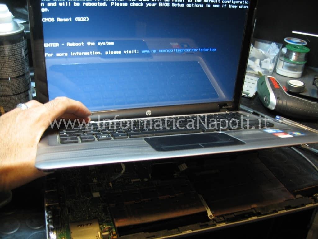 assistenza hp pavilion DV3 schermo nero