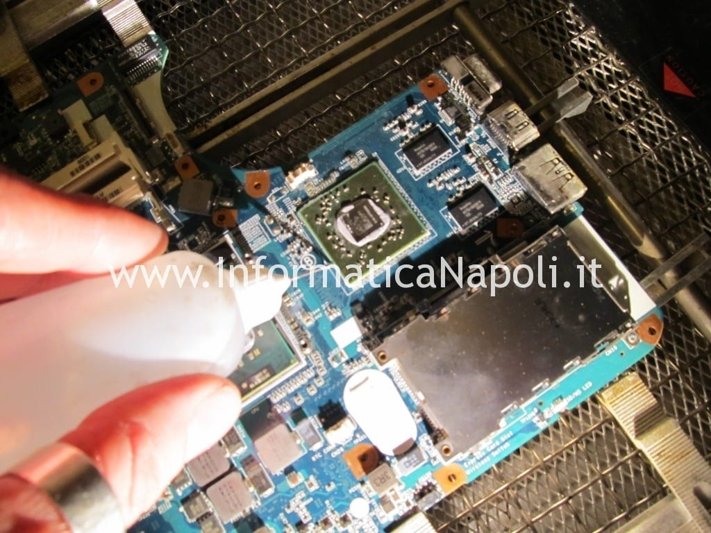 reflow reballing VPCEB1A4E PCG-71211M mbx-224 m960_mp_mb