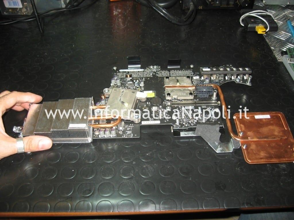 riparazione scheda logica apple imac a1311 MB950