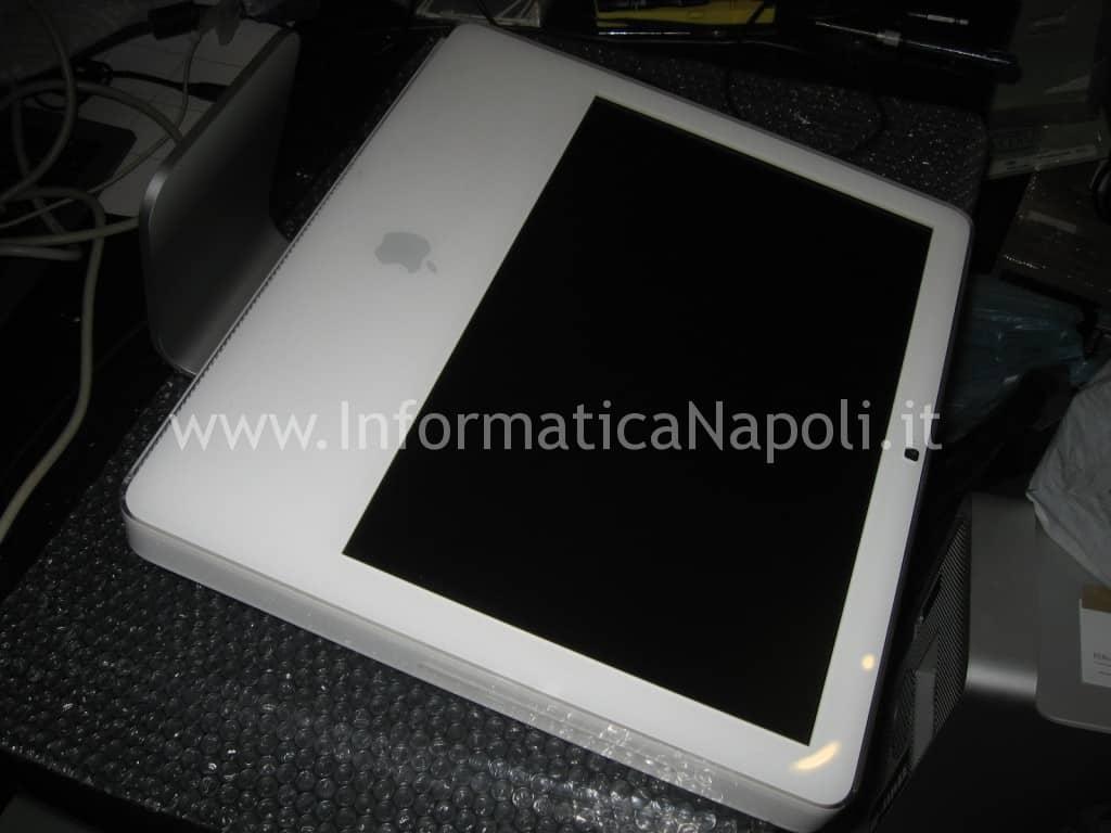 problemi scheda video artefizi iMac 17-inch Late 2006 EMC 2114 ATI Radeon X1600
