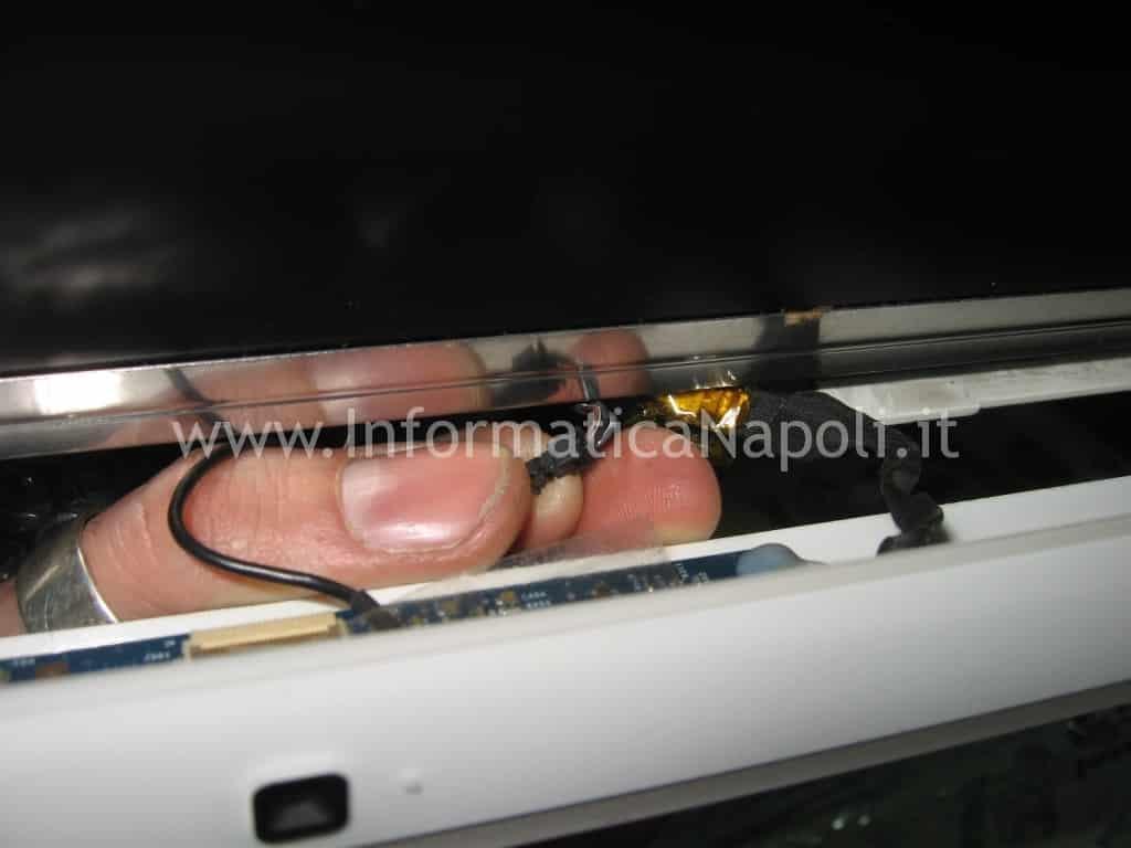 """come riparare iMac 17"""" fine 2006 EMC 2114 ATI Radeon X1600"""