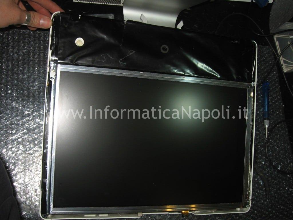 """problema apple iMac 17"""" fine 2006 EMC 2114 schermo nero"""