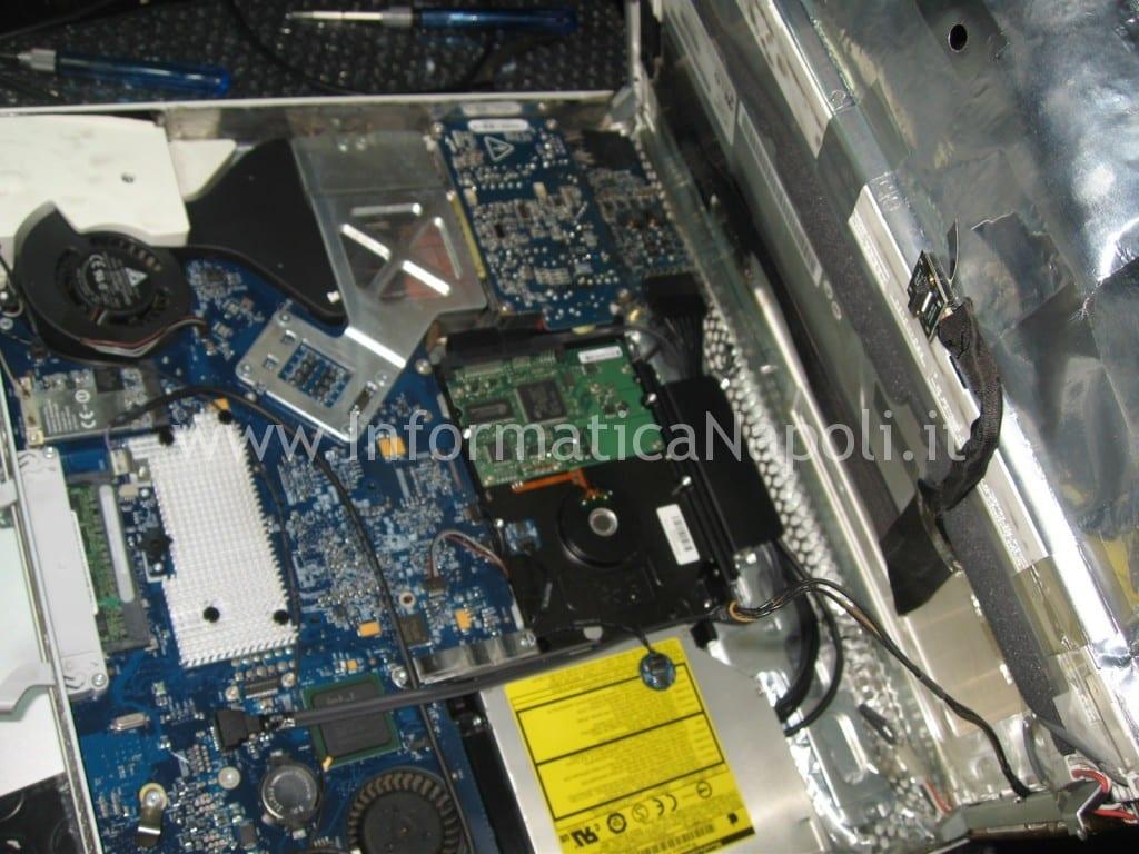 """assistenza riparazione apple iMac 17"""" 2006 EMC 2114 vintage"""