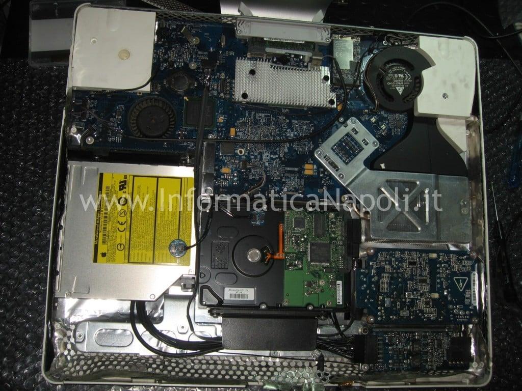 """assistenza riparazione apple iMac 17"""" 2006 EMC 2114 vintage napoli"""