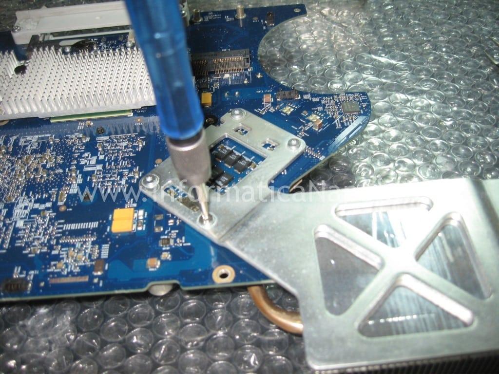 dissipatore apple iMac 17″ 2006 EMC 2114 vintage napoli