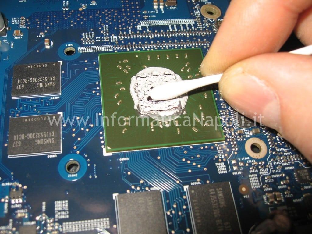 """assistenza riparazione scheda video ATI Radeon X1600 apple iMac 17"""" 2006 EMC 2114 vintage napoli"""