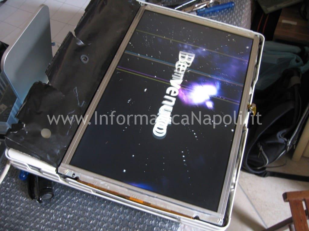 """test accensione riparazione Apple iMac 17"""" 2006 vintage"""