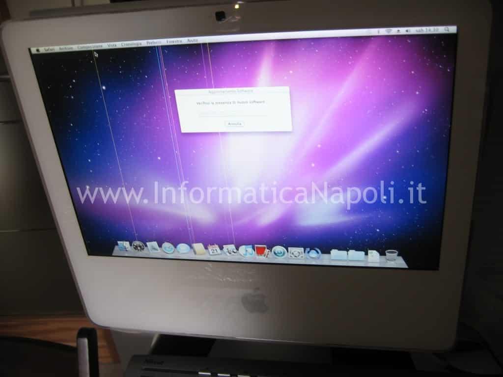 """Apple iMac vintage 17"""" 2006 riparato funzionante"""