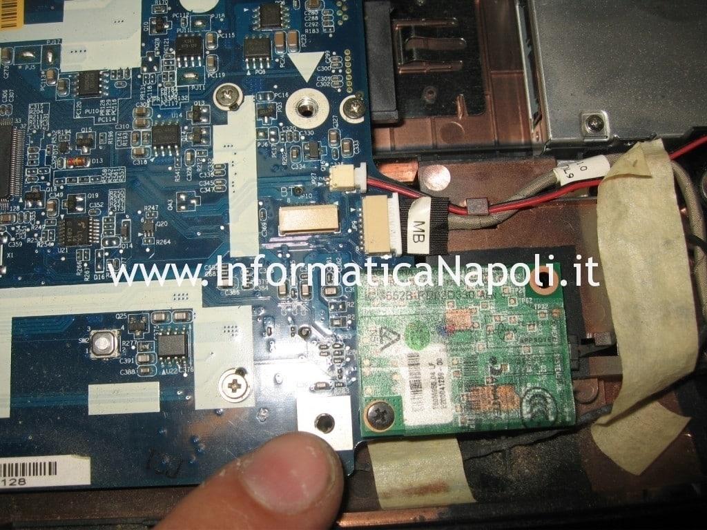 rework reballing scheda madre acer 5530 5530g JALB0 jalbo