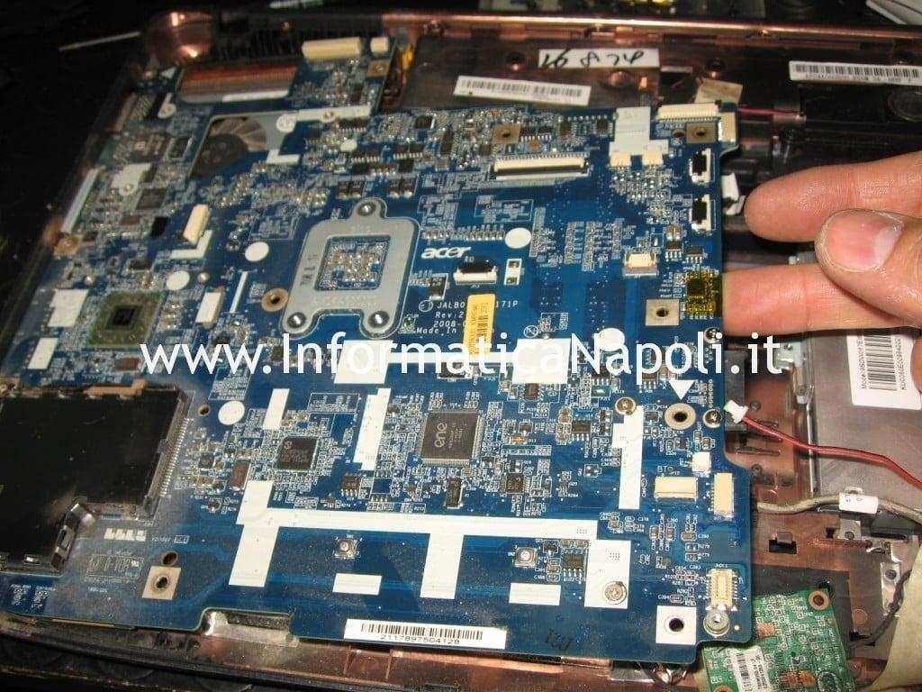 Scheda madre Acer 5530 JALB0 da riparare