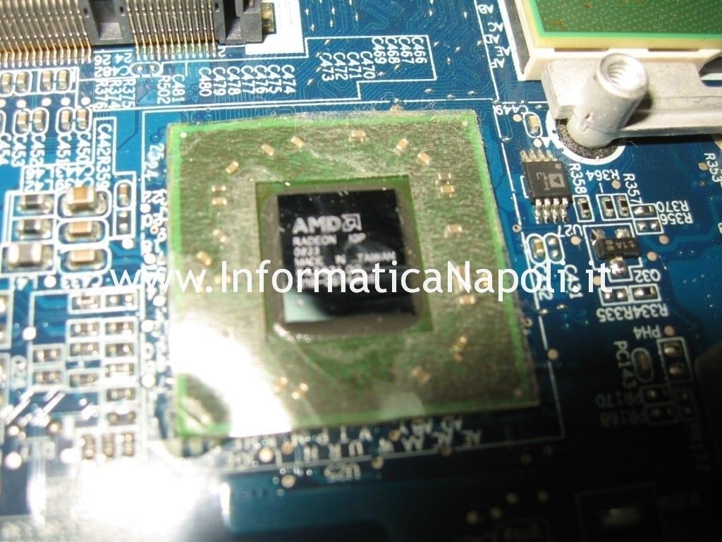 Problemi accensione Acer 5530 5530g ATI AMD reballing reflow
