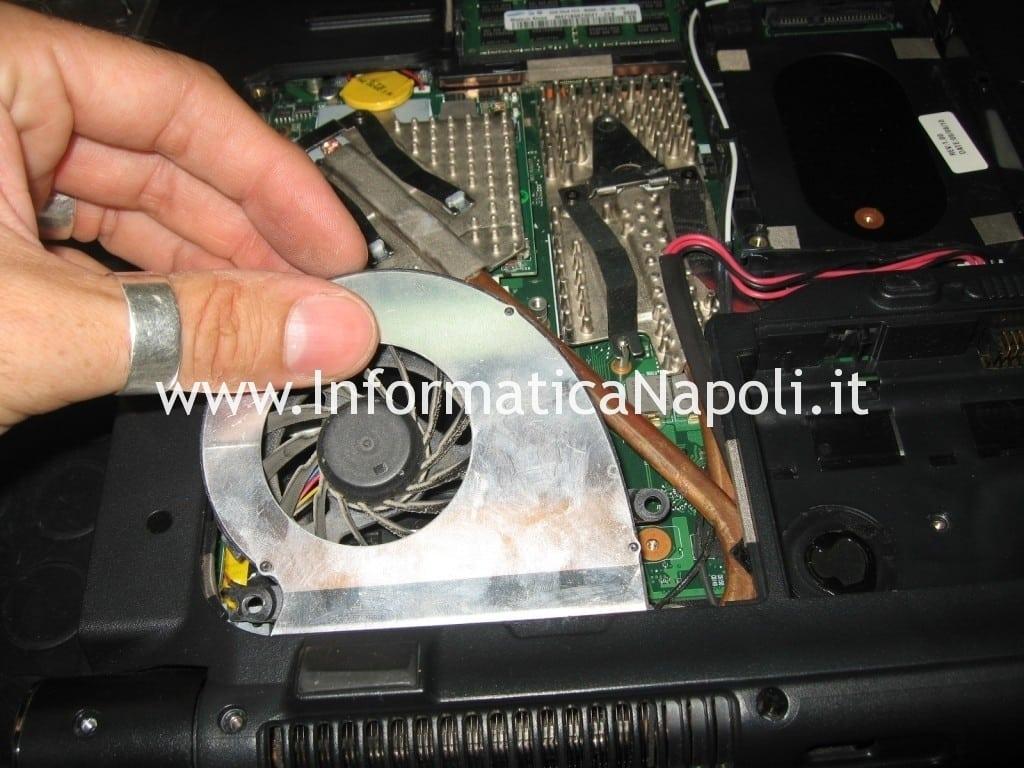 pulire ventola dissipatore Acer aspire 6935 LF2
