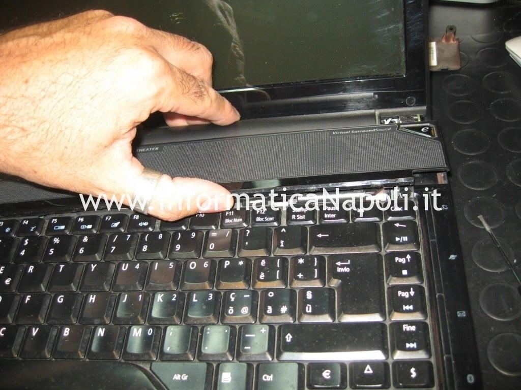 Smontare tastiera Acer aspire 6935 LF2 problema spegnimento
