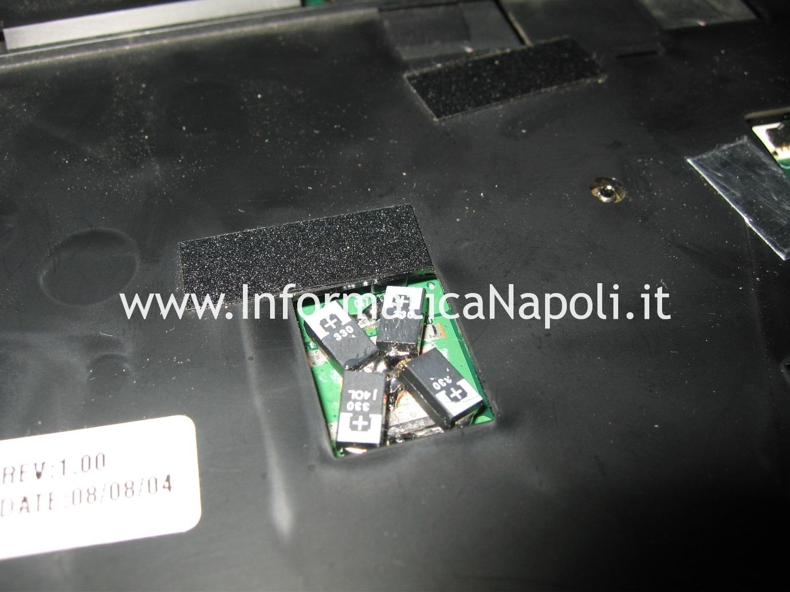 scheda madre motherboard Acer aspire 6935 LF2 si spegne