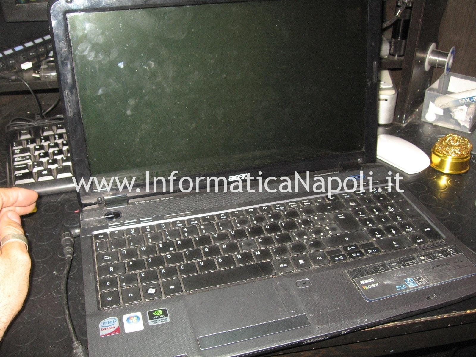 problema Acer Aspire 5738g
