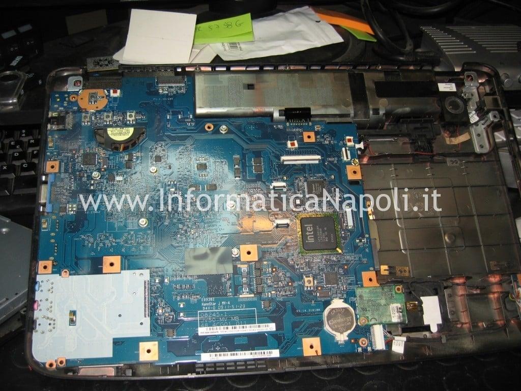 riparazione scheda madre Acer Aspire 5738