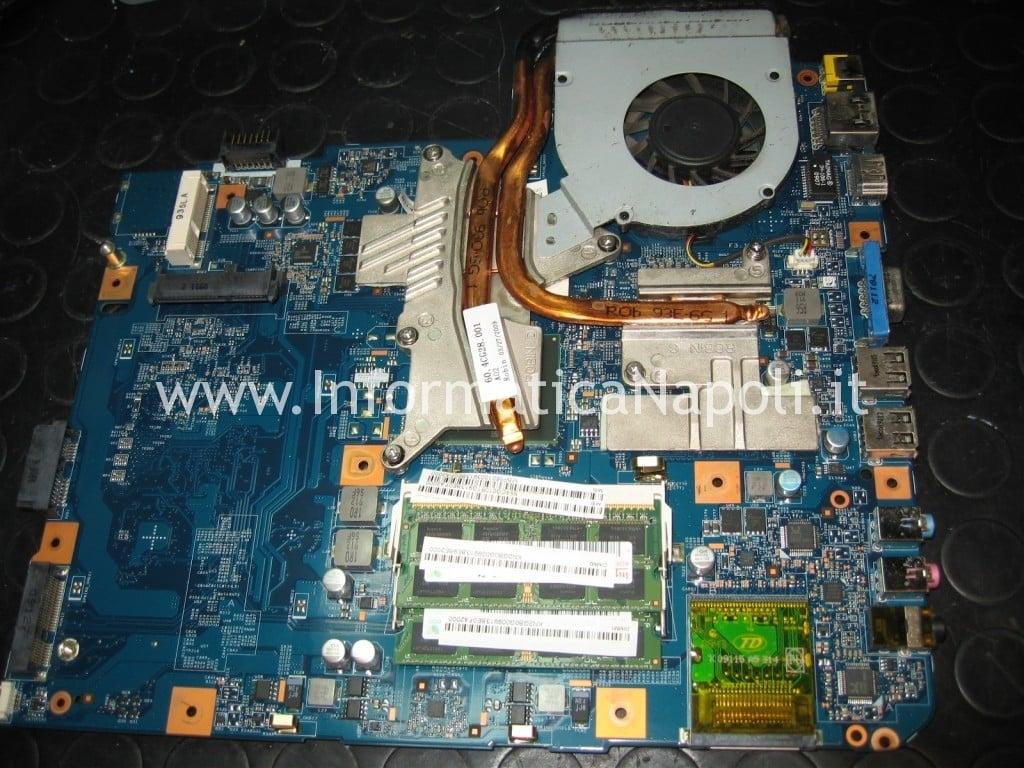 riparazione scheda video motherboard JV-50 MV Acer Aspire 5738