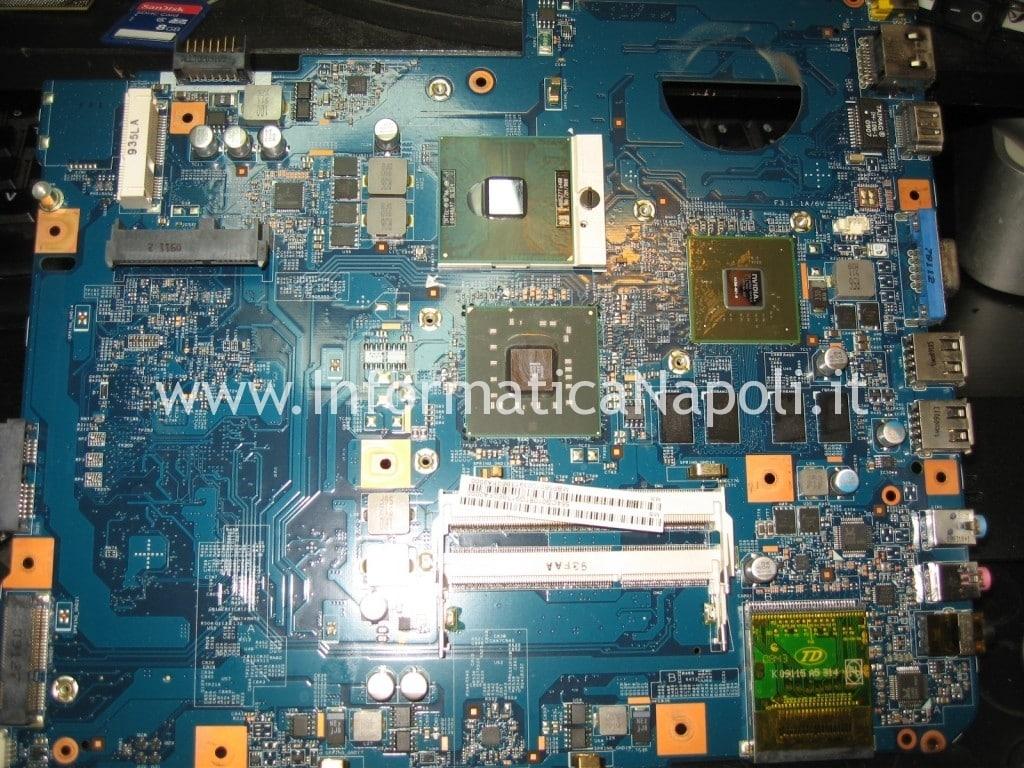 reflow reballing nVidia GPU JV-50 MV Acer Aspire 5738