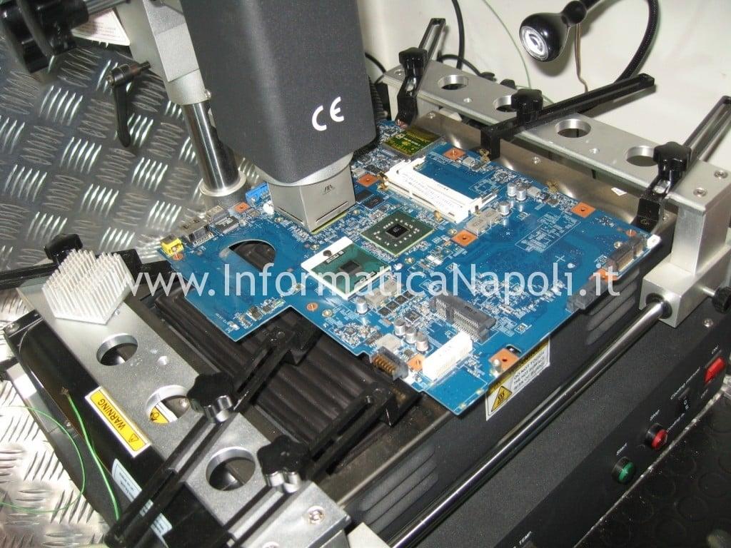 come ripristinare scheda madre nVidia Acer Aspire 5738