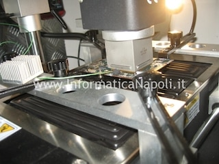 come riparare scheda video ATI AMD apple imac A1312 reball lift reflow A1311