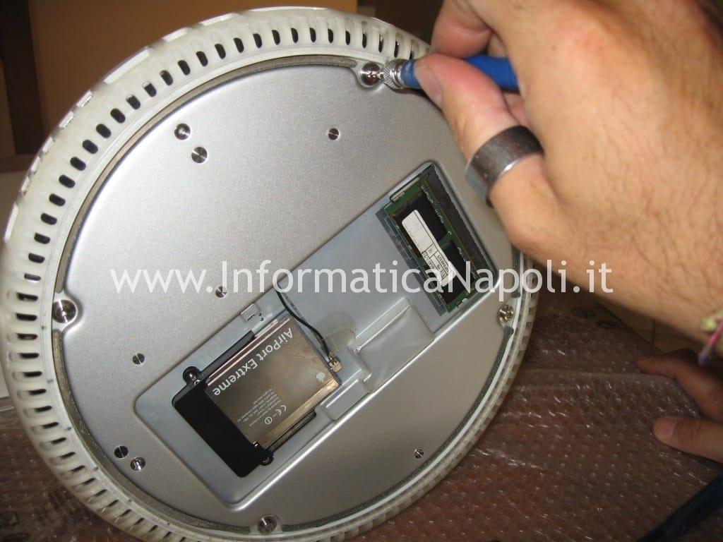 """assistenza riparazione Apple vintage iMac G4 20"""" a1065"""