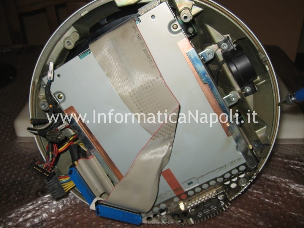 "assistenza Apple napoli vintage iMac G4 20"" a1065"