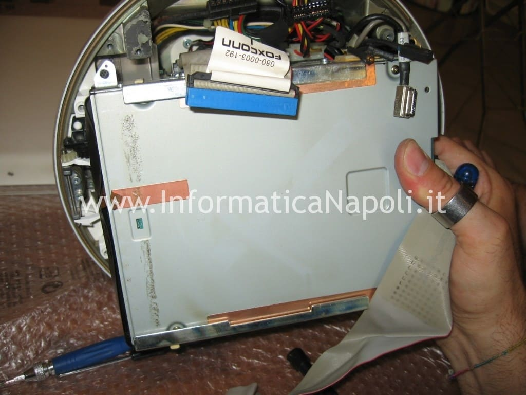 "dvd cd combo masterizzatore Apple vintage iMac G4 20"" a1065"
