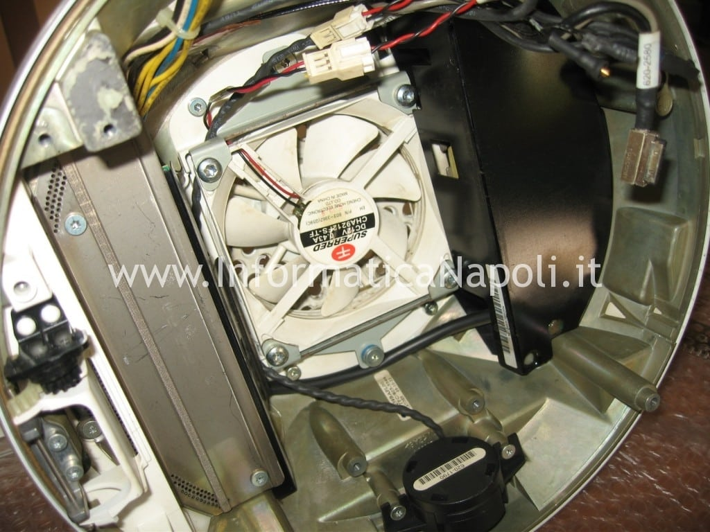 "problema fan ventola Apple vintage iMac G4 20"" a1065"