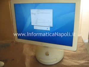 "Assistenza Apple vintage iMac G4 20"" a1065 riparato"