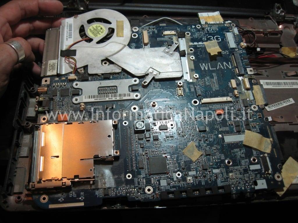 problemi scheda madre LA-3481P Toshiba A200