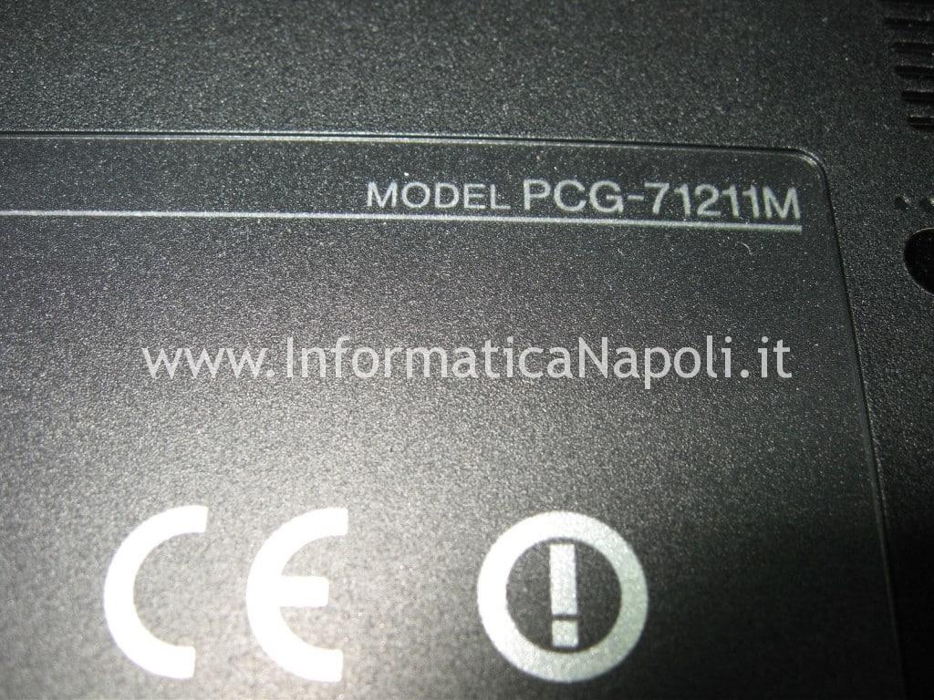 problemi video Sony VPCEB3L1E 71211M