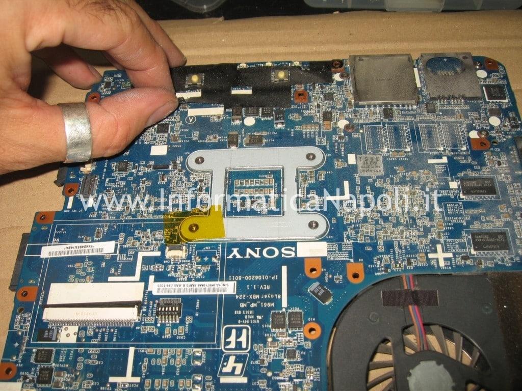 Problema avvio Sony VPCEB3L1E 71211M