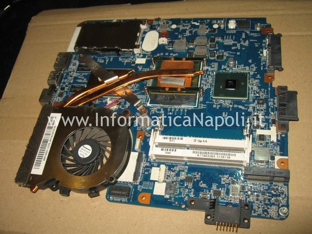 reflow reballing bga video M961 MBX-224 Sony VPCEB3L1E 71211M