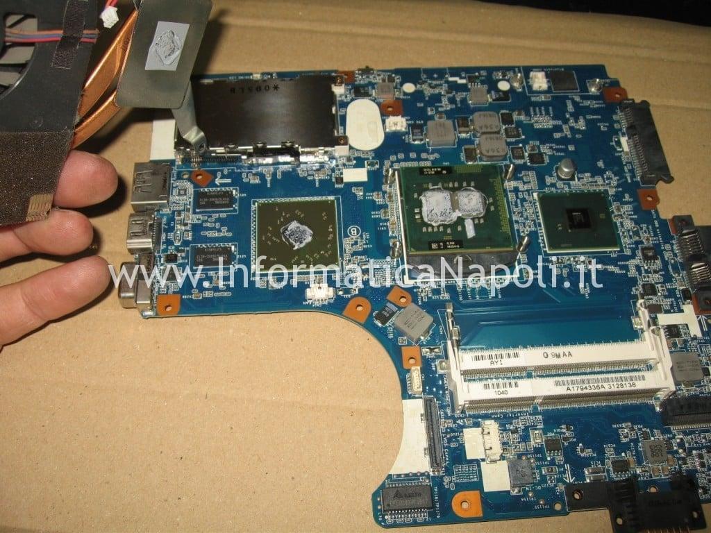 problema scheda video ATI Radeon M961 MBX-224 Sony VPCEB3L1E 71211M