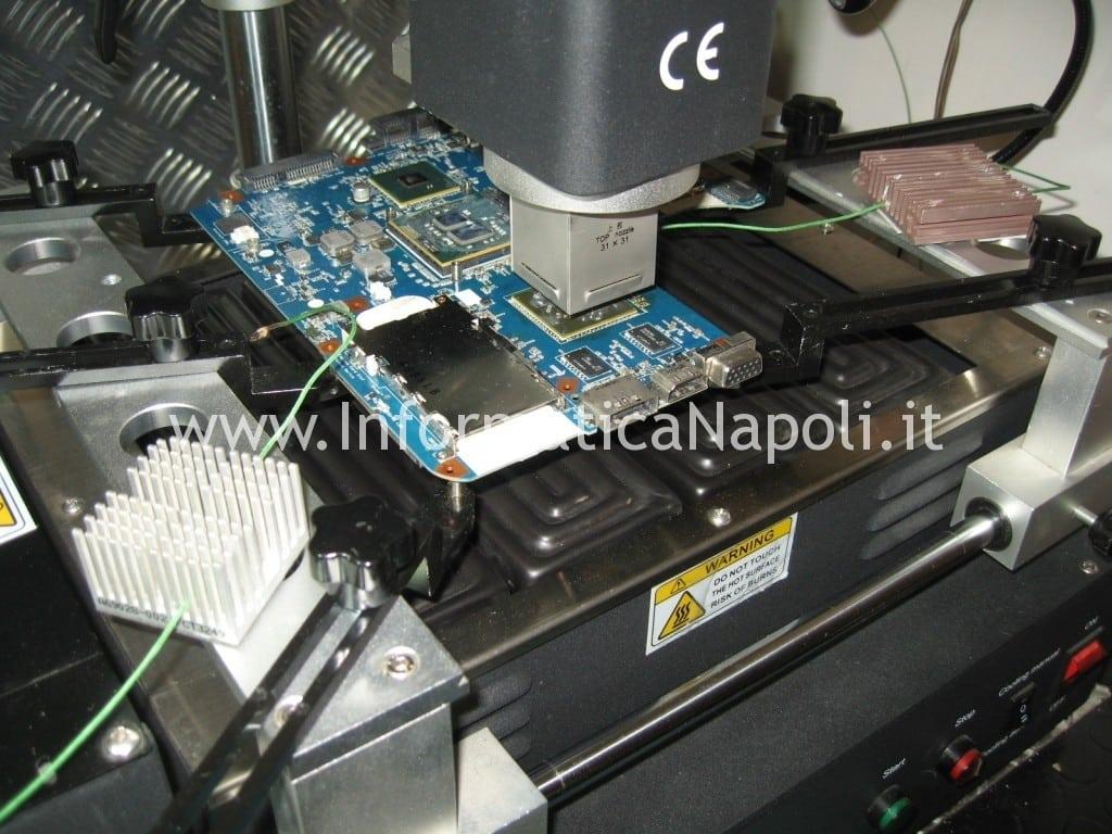 problema Sony VPCEB3L1E 71211M non si avvia